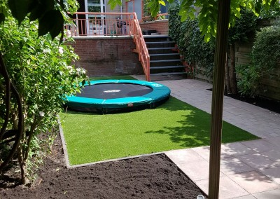 Project omheinde tuin in Voorburg