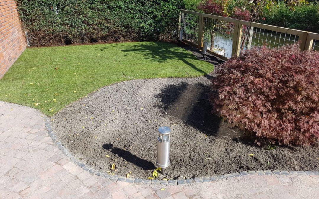 Renovatie achtertuin in Den Haag (De Bras)