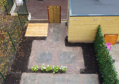 Beknopte achtertuin in Nootdorp