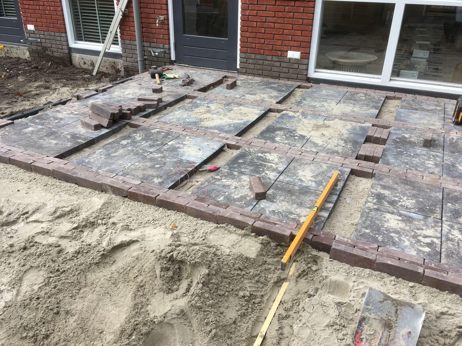 Beknopte achtertuin in Nootdorp - Nederhof Hoveniers